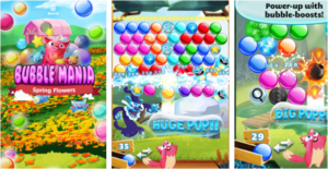Bubble Mania Spring Flowers for PC Screenshot