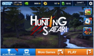 Hunting Safari 3D for PC Screenshot