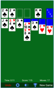 Solitaire for PC Screenshot