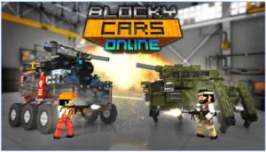 Blocky Cars Online for PC Screenshot