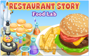 Restaurant Story Food Lab for PC Screenshot