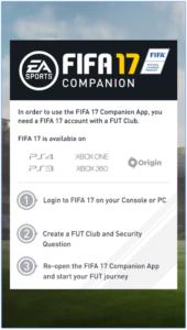 FIFA 17 Companion for PC Screenshot