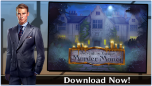 Adventure Escape Murder Manor for PC Screenshot